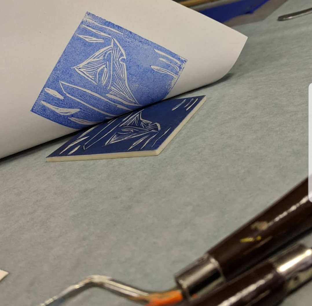 Introduction to Linocut Printmaking | The Craft Room Comber